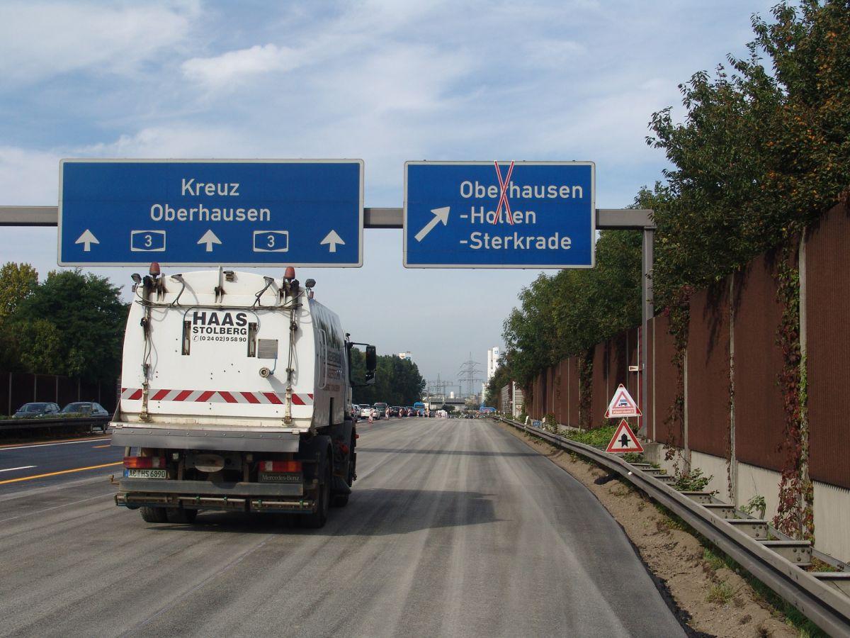 Staumeldung A3 Richtung Oberhausen